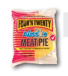 Pie Lite Meat 175Gx24 Four N Twenty