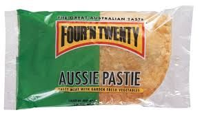 Pastie Aussie Meat 175Gx12 Four N Twenty