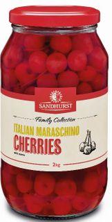 CHERRIES RED MARASCHINO S/O 2K SANDHURST