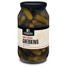 Gherkin Sweet Spiced 2Kg Sandhurst