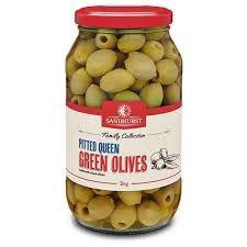 OLIVE GREEN QUEEN PITTED 2KG SANDHURST