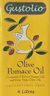 OIL OLIVE POMACE 4LT GUSTOLIO