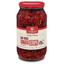 TOMATO SUNDRIED STRIPS 1.9KG SANDHURST