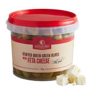 Olive Green Stuffed Feta 2Kg Sandhurst