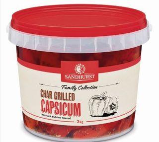 CAPSICUM CHARGRILLED 2KG SANDHURST