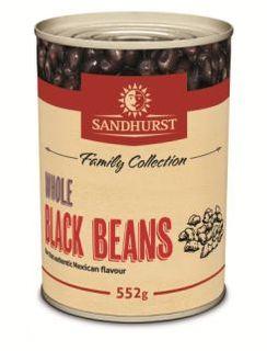 BLACK BEANS 552GM SANDHURST