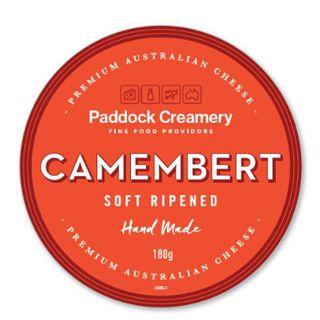 Paddock Creamery Camembert 180Gm