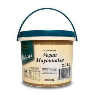VEGAN MAYONNAISE 2.2KG WOODS
