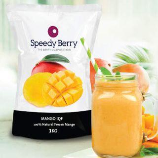Mango Diced Iqf 1Kg Speedyberry