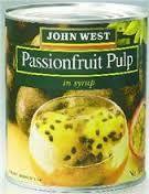 PASSIONFRUIT PULP 840GR JOHN WEST