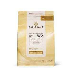 CALLEBAUT WHITE CALLET 2.5KG W2