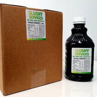 Slushy Blackcurrant Syrup (6X1Ltr)