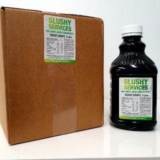 Slushy Sour Grape Syrup (6X1Ltr)