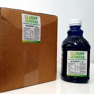 SLUSHY BLUEBERRY SYRUP (6X1LTR)