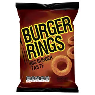 Burger Rings Chips 45Gx18 Smiths