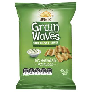 Chips Grainwaves Sour Cream & Chives 40Gx18 Smiths