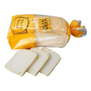 BREAD LOAF WHITE SLICED G/F 2 X 1.2KG