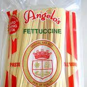 Pasta Fettuccine White 5Kg Angelos