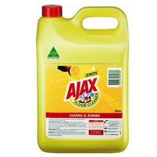 AJAX LEMON FLOOR CLEANER 5LT