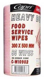 Cloth Roll Heavy Duty Red 50 X 30Cm
