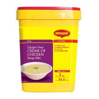 Maggi Cream Of Chicken Gluten Free Soup 2Kg