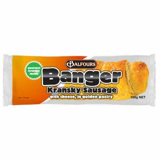 KRANSKY CHEESE BANGER 150GX18 BALFOURS