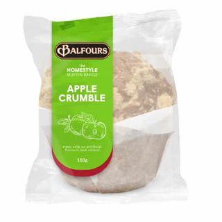 H/STYLE APPLE CRUMBLE MUFFIN 150GX15 BALFOURS