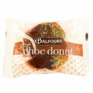 CHOCOLATE DONUTS 130GX12 BALFOURS