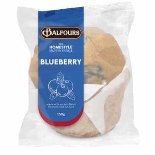 H/STYLE BLUEBERRY MUFFIN 150GX15 BALFOUR