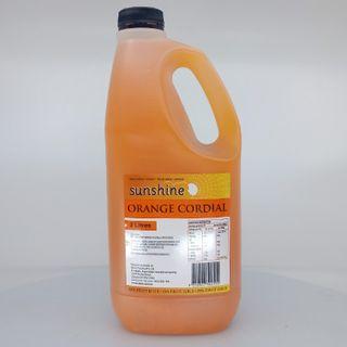 CORDIAL ORANGE 25% 2LTR SUNSHINE