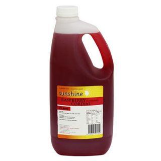 CORDIAL RASPBERRY 25% 2LT SUNSHINE