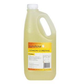 CORDIAL LEMON 25% 2LTR SUNSHINE
