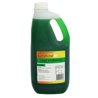 CORDIAL LIME 25% 2LT SUNSHINE