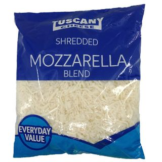 Cheese Shredded Mozzarella New York Style 2Kg