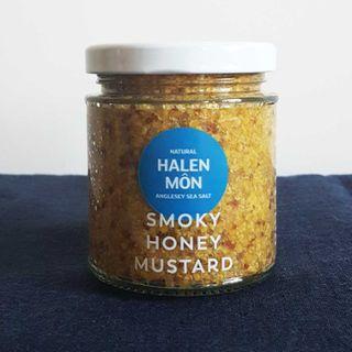 MUSTARD SMOKEY HONEY 200G HALEN MON