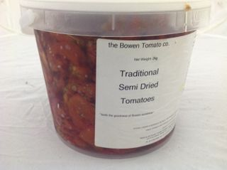 TOMATO SEMI DRIED 2KG AUSTRALIAN TOMATOES