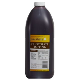 TOPPING CHOCOLATE 3LTR SUNSHINE