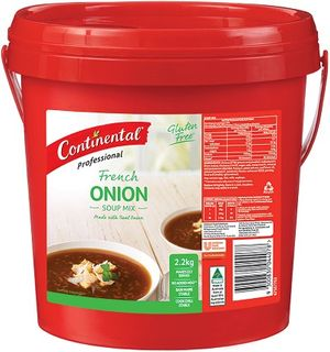 SOUP CONT FRENCH ONION  2KG G/FREE