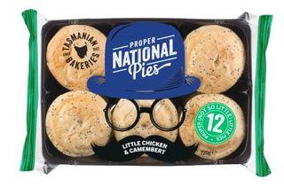 Pie Little Chicken Camembert 60Gx48 National