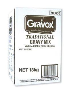GRAVOX TRADITIONAL GRAVY 13KG