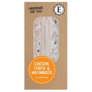 Sandwich Chicken Cheese Mayo 12 X 172G