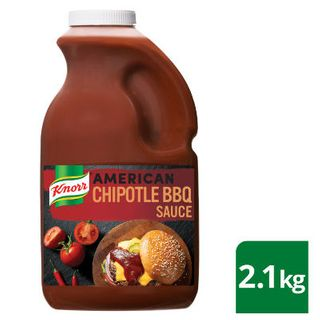 AMERICAN CHIPOTLE BBQ SAUCE GF 2.1KG KNORR