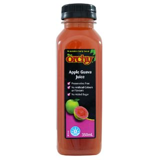 ORCHY 350MLX10 APPLE GUAVA LL NAS JUICE