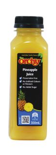 ORCHY 350MLX10 PINEAPPLE LL NAS JUICE