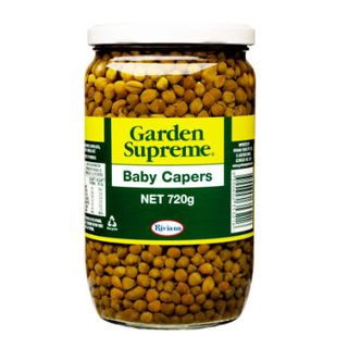 CAPERS BABY IN BRINE 720GM RIV