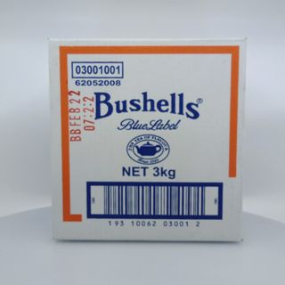 TEA LOOSE LEAF BUSHELLS BLUE LABEL 3KG