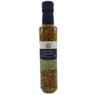 Olive Oil Garlic & Basil Extra Virgin 250Ml X 6