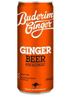 BUDERIM GINGER BEER 250ML X 24 CAN