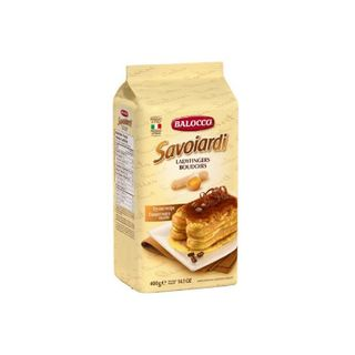 BISCUITS SAVOIARDI LADY FINGERS 400G
