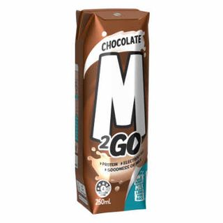 CHOCOLATE MILK UHT TETRA (250MLX24) M 2 GO